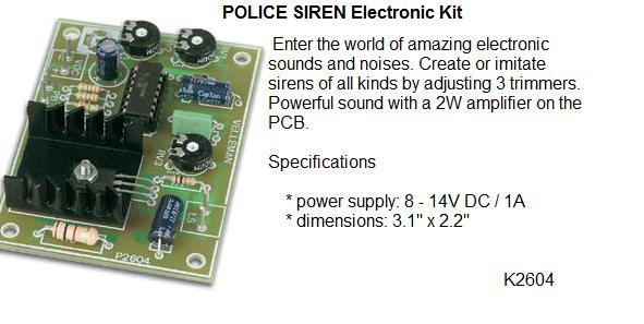 Police Siren El