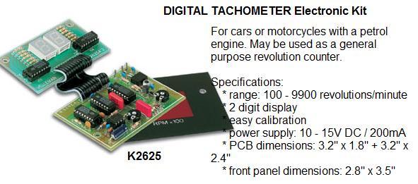 Digital Tachome