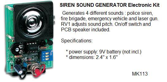 Siren Sound Gen