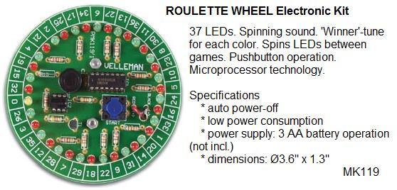 Roulette Game E
