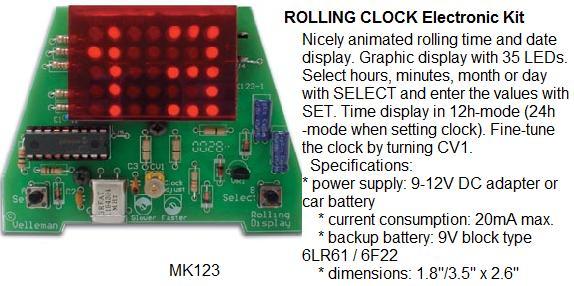 Rolling Clock E