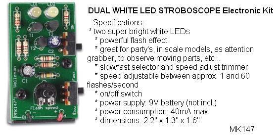 Dual White LED
