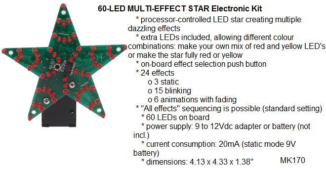 60-LED Multi-Ef