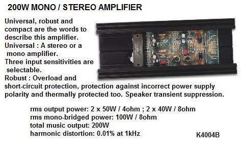 200 Watt Mono/S