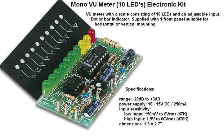 Mono VU Meter (