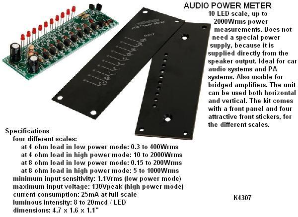 AUDIO POWER MET