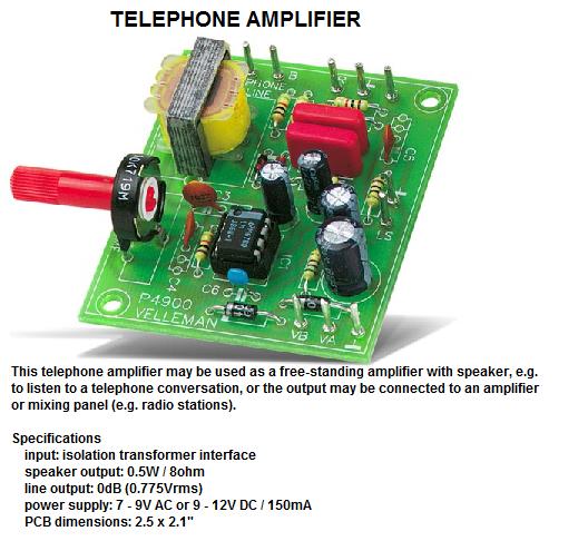 Telephone Ampli