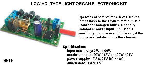 Low Voltage Lig