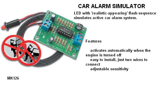 Car Alarm Simul
