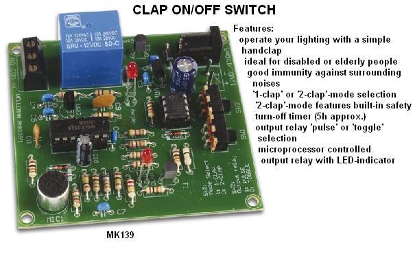 Clap On/Off Swi