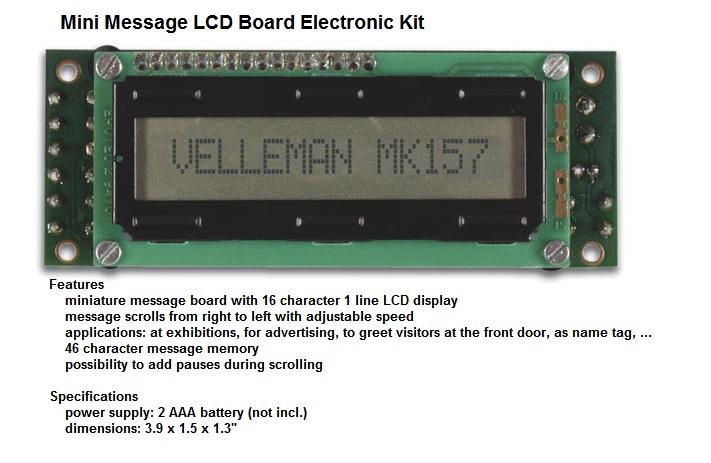 Mini Message LC